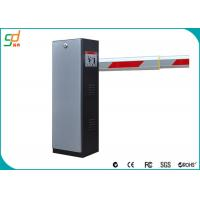 Quality 100 Watt Road Safety Car Boom Barriers With Steel Door Material for sale