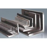 Bright Silve Steel Angle Bar 3 - 25 mm Thickness Low Carbon Water Proof Manufactures