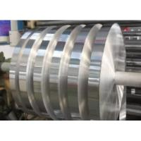 Narrow Aluminium Metal Strips , Polished Aluminum Strips Silver Color For Radiator Manufactures