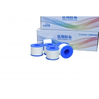 Disposable Medical Tape Low Allergenic Weaving Proof Fabric Manufactures