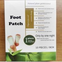 100% new material bamboo Vinegar Detox foot patch slim patch slimming plaster for weight loss fat burning body shaping Manufactures