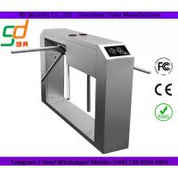 Full Automatic Stainless Steel Turnstile Gate Card Reader Optional Control System Manufactures
