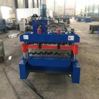R101 Trapezoidal Roofing Sheet Making Machine For 0.6mm Thickness Aluzinc Manufactures