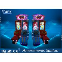 Quality Attractive Cartoon Design Racing Game Machine With Metal firm structure for sale