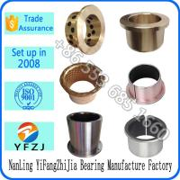 Customized OEM bearing series bronze bushing,oilite bushing,flange bearings Manufactures