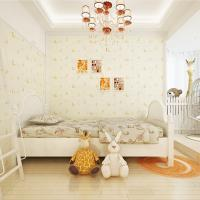 home decoration eco-friendly lovely cartoon nonwoven children wall paper European Manufactures
