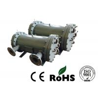 Tubular Type Shell And Tube Heat Exchanger Copper Tube Bundle With Triple System Manufactures