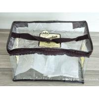 Eco-Friendly Vinyl Gift Bags with Sturdy Handle / Reusable Zip Bags Manufactures