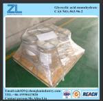 CAS NO.:563-96-2, 98% industry grade glyoxylic acid monohydrate Manufactures