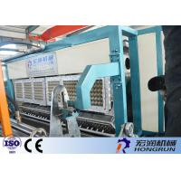 Full Automatic Used Paper Recycling Egg Tray Machine 6000pcs / h Capacity Manufactures