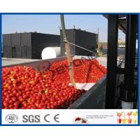 Tomato Sauce Making Machine Tomato Paste Production Line With Hot / Cold Break System Manufactures