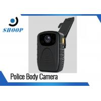 3000mAh 1296P / 1080P Police Wearing Body Cameras , IR Small Night Vision Body Camera Manufactures