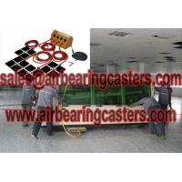 Air casters make heavy equipment easy to move Manufactures
