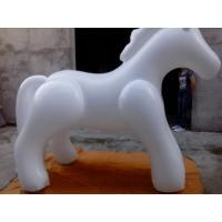 Quality 3 M Tall Attractive And Colorful Inflatable Animals / Inflatable Horse And Dogs for sale