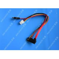 22Pin Sata 7+15Pin Female To 180 Degree Sata 7Pin Cable/4Pin Connector Manufactures