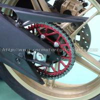 CNC Billet Anodized Finish Dirt Bike Sprockets Yamaha R15 Motorbike Rear Sprocket Manufactures