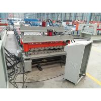 Quality Galvanized Corrugated Roofing Panel / Roof Sheet Making Machine with unit PLC for sale