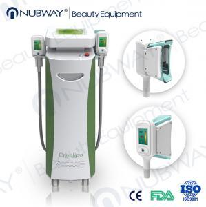 RF & Ultrasonic & Cryolipolysis & Vacuum 4 in 1 Multifunction 5 handles fat-freezing Manufactures