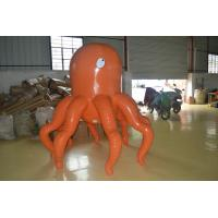 Orange Devilfish Animal Inflatable Advertising Products Double-Line Manufactures