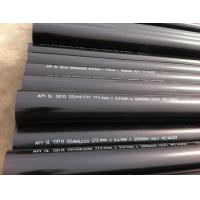 OD 273.1 mm X W.T 12.7 mm X L 12000 mm API 5L Gr.B Carbon Steel Seamless Pipe,Black Paint Coated,Plain End Manufactures
