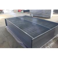 """Quality Canada temporary Construction Fence H 6'/1830mm and W 9.6' /2950mm tubing 1""""/25mm thick 1.5mm powder coated grey for sale"""
