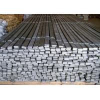 Quality 304 / 316 / 316L Stainless Steel Flat Bar For Ships Building Industry for sale