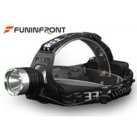 CREE T6 Outdoor LED Headlamps, 3 Light Modes Night Hunting LED Headlight Manufactures