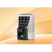 Waterproof IP65 Fingerprint Access Control System With Keypad Multi Authentication Manufactures