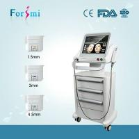Advanced ultra age hifu face lift machine for skin tightening, wrinkle removal Manufactures