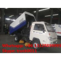 forland mini 4*2 LHD 1m3 street sweeper truck for sale, hot sale forland mini road sweeper truck with cheapest price Manufactures