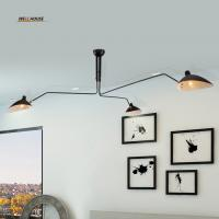 Buy cheap Retro industrial loft Nordic Iron Ceiling light living room creative artistic personality Duckbill lampshade spider from wholesalers