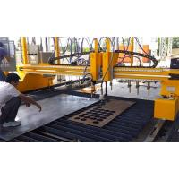 4M Span VFD Control CNC Plasma Cutting Machine With P105 Hypertherm Power Manufactures