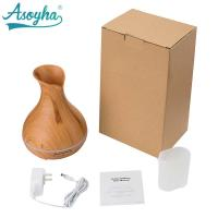 300ml PP Material Atomizer Aroma Air Humidifier Wood Grain For Office Home Manufactures