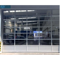 Buy cheap Remote Control Aluminum Alloy Glass Sectional Garage Door from wholesalers