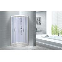 Double sliding door shower enclosure , 900 x 900 x 2150mm Glass Shower Cabin Manufactures