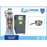 Automatic DC Capacitor Discharge Spot / Projection Welding Machine for  Aluminum Cookware Manufactures