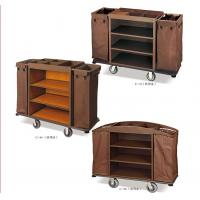 Quality Hotel Trolley Room Service Equipments Multi Styles Optional 6 Inch PVC / PPR Wheels for sale