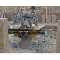 Customized Green Hydraulic Pile Breaker / Pile Cutting Equipment Manufactures