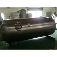 Industrial Stainless Steel Air Compressor Receiver Tanks Double Sided Welding Manufactures