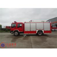 Gross Weight 16000kg Fire Fighting Vehicles , 4500L Water Container Fire Pumper Truck Manufactures