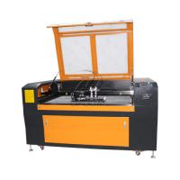 Low Cost 1300*90mm Steel Wood Acrylic Co2 Laser Cutting Machine with Double Heads Manufactures