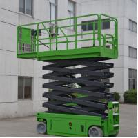 11.8 Meters Platform Height 230Kg Loading Capacity Self-Propelled Scissor Lift with Extension Working Platform Manufactures