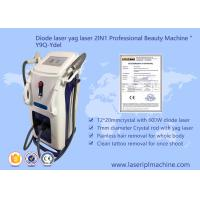 Clinic 1064nm Diode Laser Hair Removal Machine Painless 10 Bars / 12 Bars Manufactures