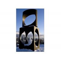 Large Decoration Painted Metal Sculpture Stainless Steel Sculpture Manufactures