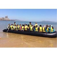 Heavy Duty Hand Made Chemical Resistance Foldable Inflatable Boat For 20 Persons Manufactures