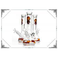 Superhero Iron Man Glass Smoking Water Pipe Ice Bong Beaker Bottom Hookah 10 Inches Manufactures