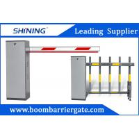3-6m Remote Control Boom Barrier Gate 60 W Car Park Boom Gates With Safety Sensor Manufactures
