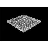 Buy cheap Sreet Light LED Optics Lenses Transmittance 93% SMD 3030 LED Chips from wholesalers