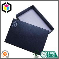 Auto Parts Package Matte Black Color Logo Silk Screen Print Paper Gift Box Manufactures