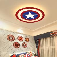 China Kids LED Ceiling Lights Captain America with remote control ceiling lamp (WH-MI-131) on sale